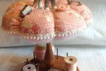 PIN CUSHIONS / by Sandra Hoge