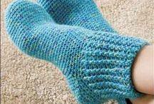 Crochet Patterns - Legs & Feet