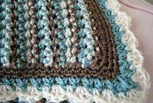 Crochet Patterns - Afghans, Baby Blankets, Etc.