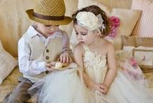 Fashion: Ring Bearers/Flower Girls / Adorable ideas for the two smallest members of your wedding party!  Send the ring bearer and flower girl down the aisle in style. #ringbearer #flowergirl / by Wedding Favors Unlimited
