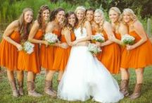 Color: Orange Weddings / Find supplies and ideas for an orange wedding color scheme!  From cakes to bridesmaid dresses to favors, we've got it covered. #orange #wedding / by Wedding Favors Unlimited