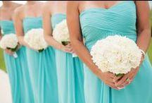 Color: Aqua/Tiffany Blue Weddings / Find all kinds of inspiration for an aqua or tiffany blue wedding color scheme!  #aquaweddings #tiffanyblue #weddings / by Wedding Favors Unlimited
