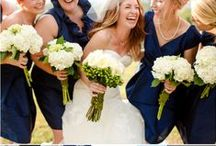 Color: Navy Weddings / Find tons of ideas for a navy wedding color scheme!  #navyweddings #weddingideas / by Wedding Favors Unlimited