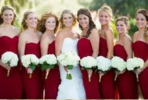 Color: Red Weddings / All your favorite hues of red in one place!  Find ideas for red, cranberry, and burgundy weddings. #redweddings / by Wedding Favors Unlimited