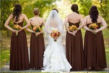 Color: Brown Weddings / Find lots of ideas for mocha, chocolate and brown weddings! #brownweddings / by Wedding Favors Unlimited
