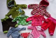Doll Clothes Patterns and Tutorials