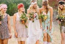 Theme: Bohemian Wedding / Bohemian Wedding Ideas
