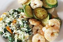 Recipes-Seafood / Recipes for seafood dishes, soups and salads