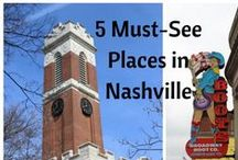 Travel - Nashville / Things to do & see and good restaurants in Nashville, Tennessee