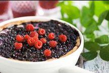 Mustikkapiirakoita / Blueberry pies