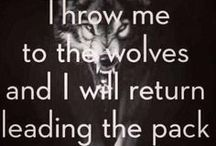 """Howl With Me / Wolves have always been a big part of my life. They are amazing creatures and I am thankful there are people in the world that stand up for them. """"For there is nothing either good or bad, but thinking makes it so."""""""