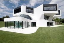 architecture - exteriors / Art of the day architecture