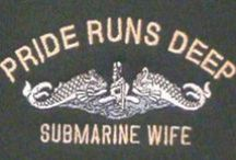 Sub Life / Submarine Wife 1998-2002 - I earned my pink dolphins!
