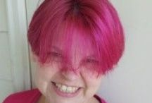 PANK! / There is a shade of pink that I love -- my Daddy said it wasn't pink it was PANK!