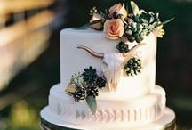 WEDDING CAKE INSPIRATION / Wedding cakes: almost to beautiful to eat. Almost.