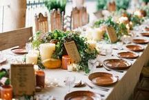 TABLE SETTINGS / Every event needs a lovely table!