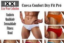 Cuecas Exxe Wear / Lançamento Exclusivo. Produzidas para seu conforto, com qualidade garantida. Produção 100 % nacional. Você não precisa mais importar.