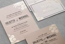 Beautiful Wedding Stationery / Perfect designs, for the perfect first impression of your big day!