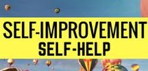 SELF-IMPROVEMENT/SELF-HELP / Improve yourself through these self-improvements self-help guides and tips.  Let's collaborate! To join this board, email me at aprilrosebautista25@gmail.com indicating your email and the board you want to join.