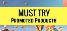 PROMOTIONS / Must try products and services.