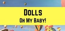DOLLS / Oh, they're lovely dolls. Come, play with me. Let's collaborate! To join this board, email me at aprilrosebautista25@gmail.com indicating your email and the board you want to join.