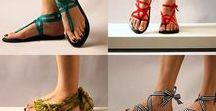 shoes and barefoot sandals