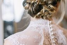 Bridal Beauty | Hairstyles / The perfect hairstyling for your BIG DAY!!!