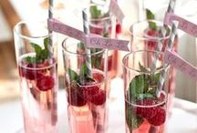 Wedding Food and Drinks / Delicious AND pretty!