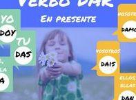Tablero de verbos / Colección de verbos para presentar en clase