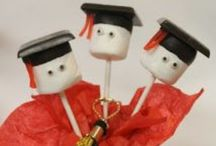 Graduation Party Ideas / Graduation foods, snacks, appetizers, drinks, decorations, favors, cakes and fun !!!  / by Leona Koszyk