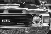 Old cars / A collection of pictures of old cars.