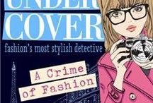 Model Under Cover: A Crime of Fashion / Sixteen-year-old Axelle is furious at being sent to stay with her fashion editor aunt for Paris Fashion Week. She may have incredibly long legs, but all Axelle wants to do is solve mysteries and is far more likely to be found nose down in a Nancy Drew than wiggling her foot into a Jimmy Choo. But when a top fashion designer vanishes into thin air, Axelle goes undercover as a model to solve the mystery...  www.carinaaxelsson.com