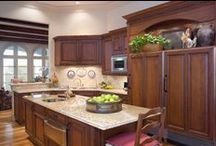 New Construction - Kitchen & Bar / Cabinet Design by: Mary Calvin