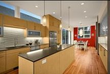 Contemporary Kitchens & Spaces / All pictures copyright and for promotional use of Bellmont Cabinets.