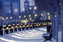 Winter in Montreal / L'hiver à Montréal / Joys of Winter in Montreal City / Les joies de l'hiver dans la ville de Montréal