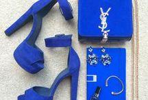 Blue Fashion Flatlay