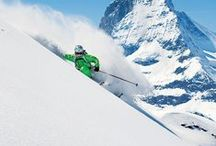 Lyžovanie / lyže, lyžiarsky výstroj, lyže, lyžiarske strediská, zimná dovolenka, lyže