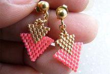 Küpe ❤ Earring / Küpe yapımına dair fikirlere ulaşabilir, malzemeler için Hobium.com'u ziyaret edebilirsiniz. ❤ For various earring making materials please visit Hobium.com