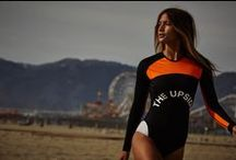 THE UPSIDE - Apres McQueen / Shot in Santa Monica with Simon Upton behind the lens, THE UPSIDE's Apres McQueen collection embodies that active woman of the forefront of fashion. Featuring our girl Rocky Barnes.  www.theupsidesport.com
