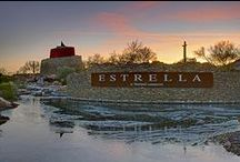 Life in Estrella / Estrella has 3 new home communities, 2 beautiful lakes and a scenic championship golf course. There's something here for everyone. http://estrella.com/ / by Estrella
