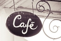 The coffee shop dream... / Beautiful bakeries and coffee shops! The dream!