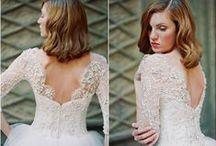 Wedding Dresses/ Fashion / Wedding Dresses and Fashionable looks for the wedding.