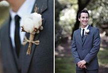 Groom and Groomsmen Look / Looking like a million bucks and all. See many of awesome looks for the men at your Wedding  www.knotsvilla.com