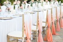 Wedding Reception Ideas / Welcome your wedding guests to something pretty with your Decor, Centerpieces and other pretty details
