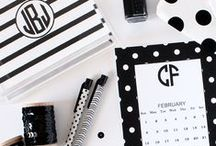 Free Printable Monograms / Free Printable Monograms from Chicfetti.com - make your own monogram with our free monogram maker / by For Chic Sake