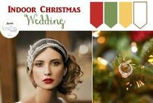 Christmas Wedding Ideas / Having a Christmas wedding? See these Ideas for Inspiration