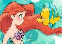 animation_disney_art_cartoons / art animation, Disney princesses, fantasia, mermaid, magic