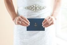 Nautical Wedding Inspiration / All things #Nautical for your #Wedding