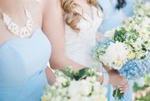 Blue Wedding Ideas / Ideas and Inspiration for your Blue wedding.