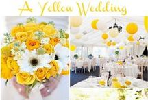 Yellow Wedding Ideas / Yellow Wedding ideas and inspiration